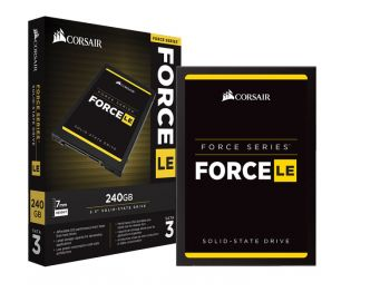 SSD CORSAIR FORCE LE 240GB 2.5'' SATA III 6GB/S BOX CSSD-F240GBLEB