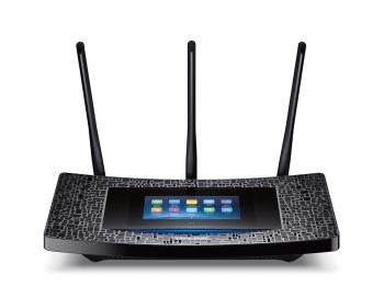 ROTEADOR TP-LINK TOUCH P5 WI-FI GIGABIT TOUCH SCREEN AC1900