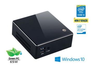 DESKTOP INTEL BRIX ULTRATOP CORE I5-5200U 4GB HD 500GB HDMI USB REDE WINDOWS 8.1 CB52004500W