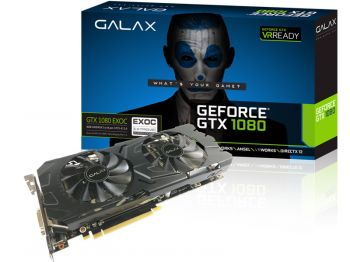 PLACA DE VIDEO GALAX GTX 1080 EXOC 8GB GDDR5X 256BIT 80NSJ6DHL4EC