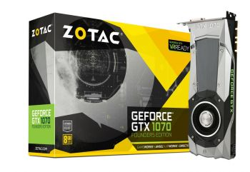 PLACA DE VIDEO ZOTAC GTX 1070 8GB DDR5 256BIT ZT-P10700A-10P