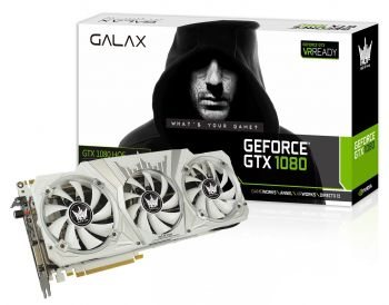 PLACA DE VIDEO GALAX GTX 1080 HOF 8GB GDDR5X 256BIT 80NSJ6DHL2SN