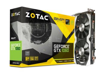 PLACA DE VIDEO ZOTAC GTX 1060 AMP! EDITION 6GB GDDR5 192BITS ZT-P10600B-10M