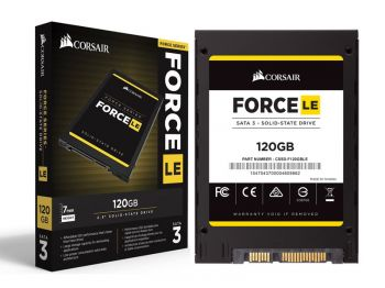 SSD CORSAIR FORCE LE 120GB 2.5 SATA III 6GB/S BOX CSSD-F120GBLEB