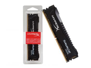 MEMORIA HYPERX SAVAGE DDR4 4GB 2400MHZ CL12 BLACK HX424C12SB2/4