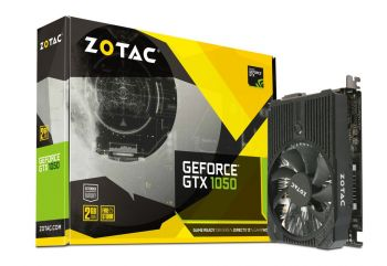 PLACA DE VIDEO ZOTAC GTX 1050 2GB GDDR5 128BITS ZT-P10500A-10L