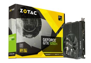 PLACA DE VIDEO ZOTAC GTX 1050 TI 4GB GDDR5 128BITS ZT-P10510A-10L