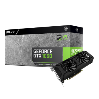 PLACA DE VIDEO PNY GTX 1060 3GB DDR5 192BIT VCGGTX10603PB