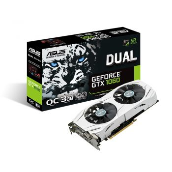 PLACA DE VIDEO ASUS GTX 1060 DUAL OC 3GB DDR5 192BITS DUAL-GTX1060-O3G