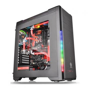 GABINETE THERMALTAKE VERSA C21 RGB BLACK WINDOW CA-1G8-00M1WN-00