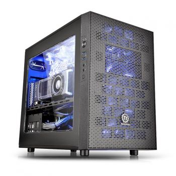 GABINETE THERMALTAKE CORE X1 BLACK CASE CA-1D6-00S1WN-00