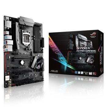 PLACA MAE ASUS STRIX Z270H GAMING DDR4 M.2 USB3.1 ATX LGA 1151