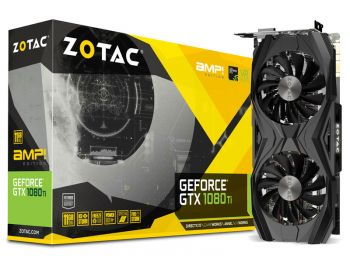 PLACA DE VIDEO ZOTAC GTX 1080 TI AMP EDITION 11GB GDDR5X 352BITS ZT-P10810D-10P