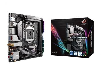 PLACA MAE ASUS STRIX Z270I GAMING DDR4 M.2 USB3.1 ITX LGA 1151