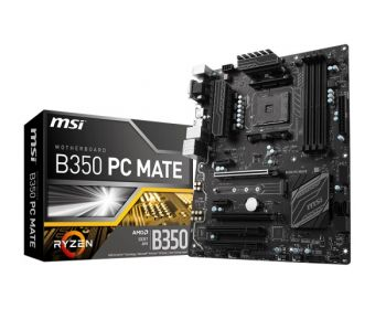 PLACA MAE MSI B350 PC MATE DDR4 USB3.1 ATX AM4