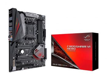 PLACA MAE ASUS X370 ROG CROSSHAIR VI HERO DDR4 M.2 USB3.1 ATX AM4