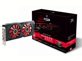 PLACA DE VIDEO XFX RX 570 RS BLACK EDITION 4GB GDDR5 256BIT RX-570P4DBD6