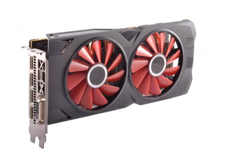 PLACA DE VIDEO XFX RX 570 RS BLACK EDITION 4GB GDDR5 256BIT RX-570P4DBD6  - foto principal 1