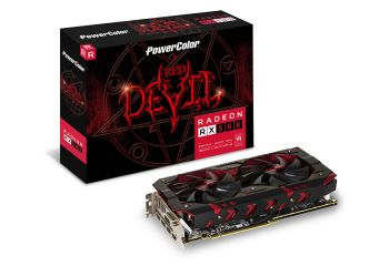 PLACA DE VIDEO POWER COLOR RX 580 RED DEVIL 8GB DDR5 256BIT AXRX580 8GBD5-3DH/OC