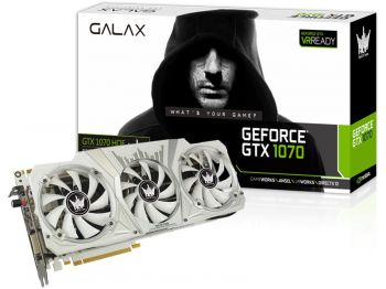 PLACA DE VIDEO GALAX GTX 1070 HOF 8GB GDDR5 256BIT 70NSH6DHL2SH