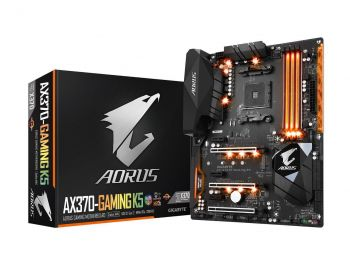 PLACA MAE GIGABYTE GA-AX370-GAMING K5 DDR4 M.2 USB3.1 ATX AM4