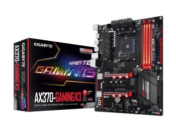 PLACA MAE GIGABYTE GA-AX370-GAMING K3 DDR4 M.2 USB3.1 ATX AM4