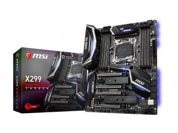 PLACA MAE MSI X299 GAMING PRO CARBON DDR4 USB3.1 ATX LGA 2066