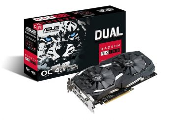 PLACA DE VIDEO ASUS RX 580 DUAL FAN OC EDITON 8GB GDDR5 256BIT DUAL-RX580-O8G