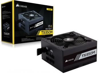 FONTE CORSAIR TX-M 850W 80PLUS GOLD S/ CABO DE FORCA CP-9020130-WW