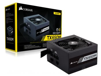 FONTE CORSAIR TX-M 650W 80PLUS GOLD S/ CABO DE FORCA CP-9020132-WW