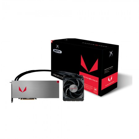 PLACA DE VIDEO XFX RX VEGA 64  LIQUID COOLED 8GB HBM2 RX-VEGMXWFXW  - foto principal 1