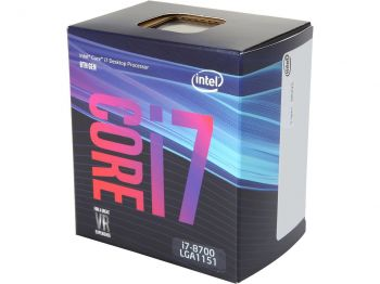 PROCESSADOR INTEL COFFEE LAKE I7-8700 SIX-CORE 4.6GHZ LGA 1151