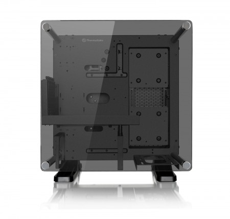 GABINETE THERMALTAKE CORE P1 BLACK WALL MOUNT MINI ITX CA-1H9-00T1WN-00  - foto principal 1