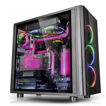GABINETE THERMALTAKE VIEW 31 TG RGB TEMPERED GLASS CA-1H8-00M1WN-01