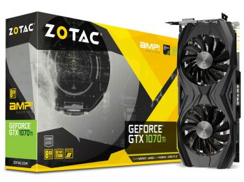 PLACA DE VIDEO ZOTAC GTX 1070 TI AMP! EDITION 8GB GDDR5 256BIT ZT-P10710C-10P