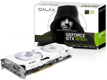 PLACA DE VIDEO GALAX GTX 1070 TI EX-SNPR WHITE 8GB GDDR5 256BIT 70ISH6DHN1WS