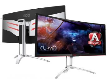 MONITOR AOC AGON 35 LED 3440X1440 ULTRAWIDE 120HZ GSYNC AG352UCG