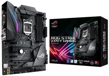 PLACA MAE ASUS ROG STRIX Z370-F GAMING USB3.1 DDR4 M.2 LGA 1151