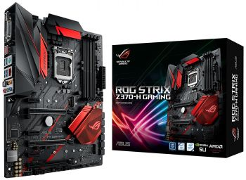 PLACA MAE ASUS ROG STRIX Z370-H GAMING USB3.1 DDR4 M.2 LGA 1151