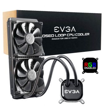 WATER COOLER EVGA CLC 280 RGB LED 400-HY-CL28-V1