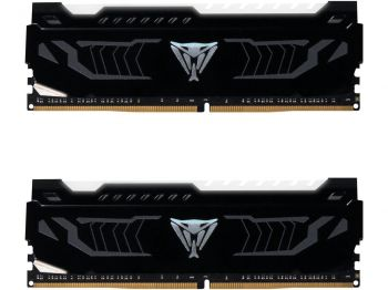 MEMORIA PATRIOT VIPER LED WHITE 16GB 2X8GB DDR4 3200MHZ PVLW416G320C6K