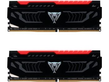 MEMORIA PATRIOT VIPER LED RED 16GB 2X8GB DDR4 2666MHZ PVLR416G266C5K