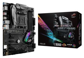 PLACA MAE ASUS ROG STRIX B350-F GAMING DDR4 M.2 USB3.1 ATX AM4