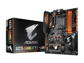 PLACA MAE GIGABYTE GA-AX370-GAMING K7 DDR4 M.2 USB3.1 ATX AM4