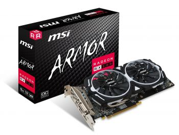 PLACA DE VIDEO MSI RX 580 ARMOR OC 8G DDR5 256BIT