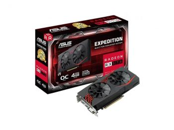 PLACA DE VIDEO ASUS RX 570 EXPEDITION OC EDITION 4GB DDR5 256BITS EX-RX570-O4G