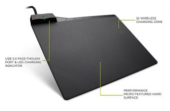 MOUSE PAD CORSAIR MM1000 QI WIRELESS CHARGING CH-9440022-NA