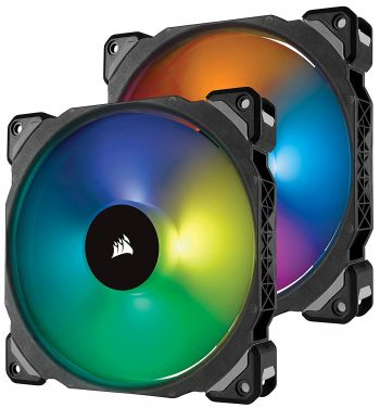 FAN CORSAIR ML140 PRO RGB 140MM KIT 2 UNIDADES CO-9050077-WW