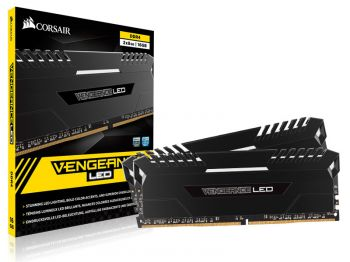 MEMORIA CORSAIR VENGEANCE LED DDR4 16GB KIT 2X8GB 3000MHZ