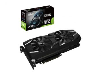 PLACA DE VIDEO ASUS RTX 2080 DUAL OC 8GB GDDR6 256BIT DUAL-RTX2080-O8G